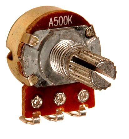 Схема с переменными резисторами